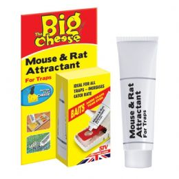 The Big Cheese Mouse Rat Attractant, Natural Poison-Free Bait Attracts Mice Rats